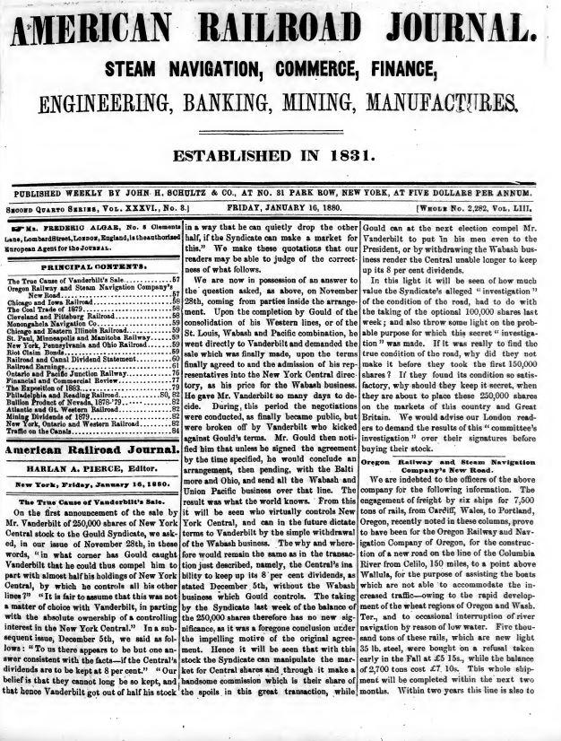 American Railroad Journal