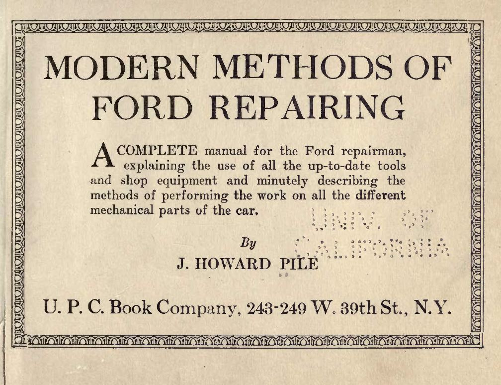 Automobile Car Manuals