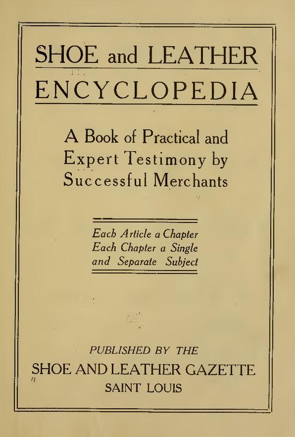 Shoemaking Books