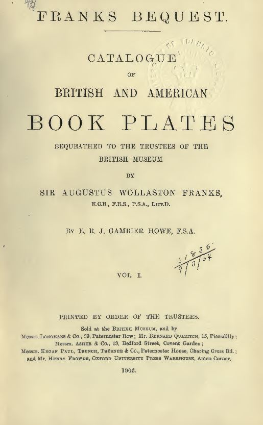 Book Plates Books