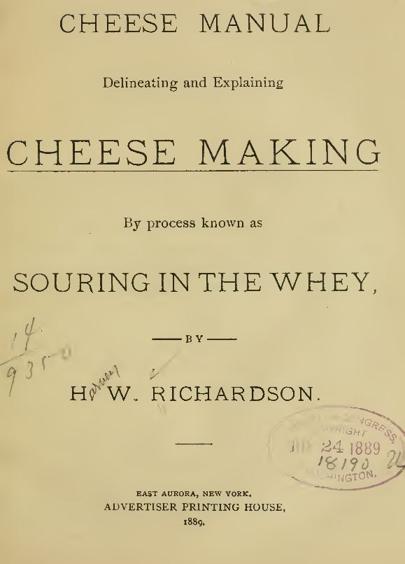 Cheese Books