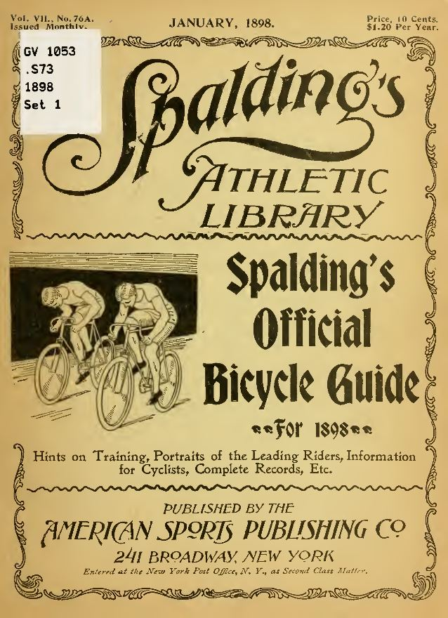 Vintage Bicycle Books