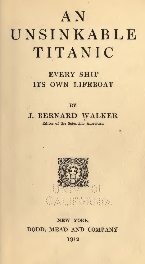 The Titanic Disaster Books
