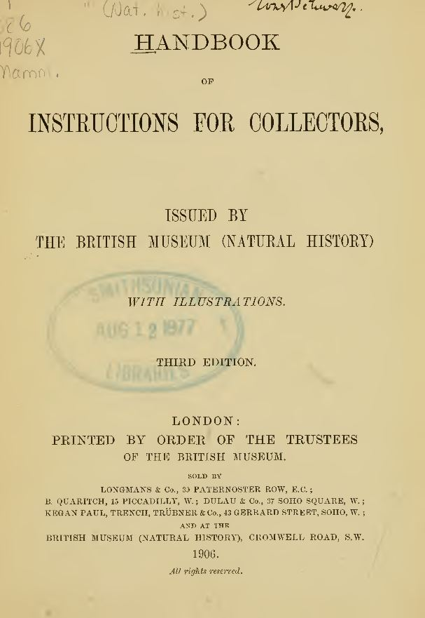 Taxidermy Books