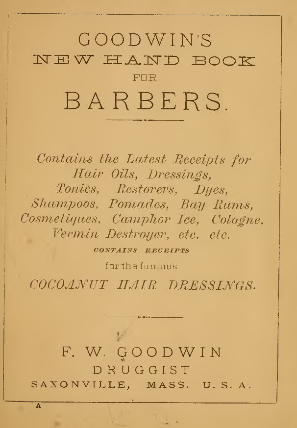 Barbers and Barber Shop Books
