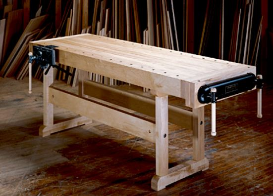 How to Build a Deluxe Workbench, Workshop Tool Plans, IMMEDIATE DOWNLOAD