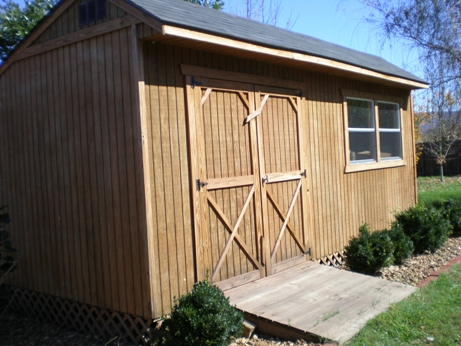 10X20 SALTBOX WOOD STORAGE GARDEN SHED PLANS 26 STYLES GABLE – Garden Shed Plans 10 X 16